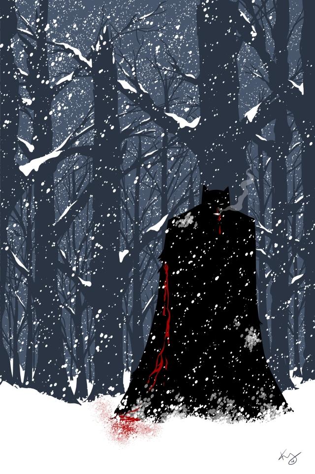 snowy bats