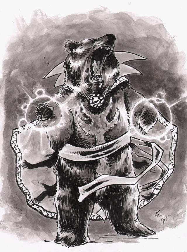 doc strange bear