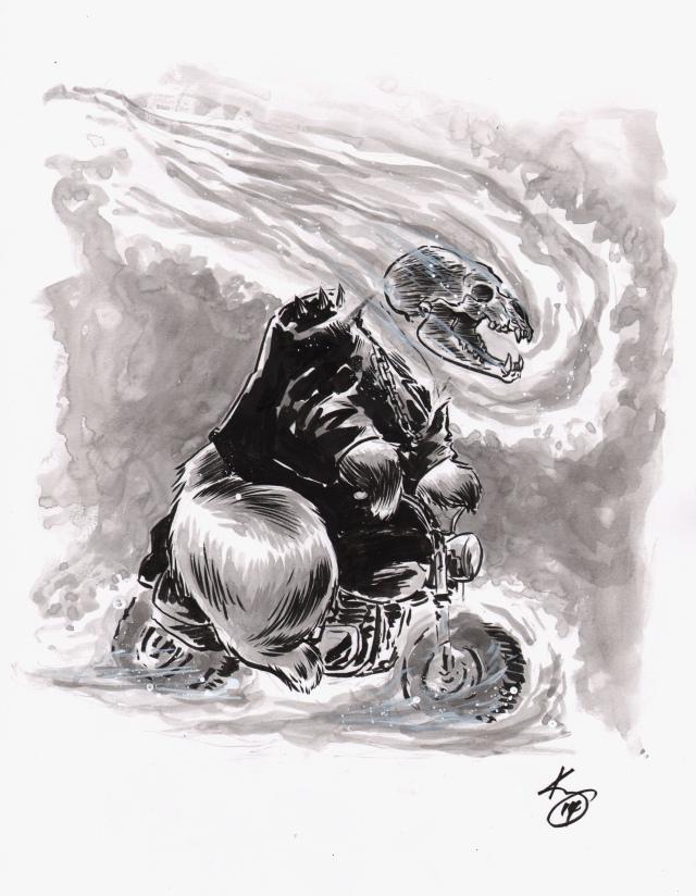 ghost rider bear
