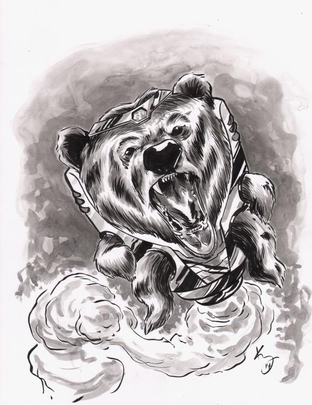 modok bear