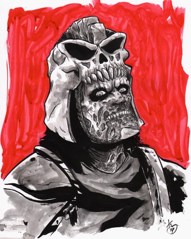 inktober evil ash