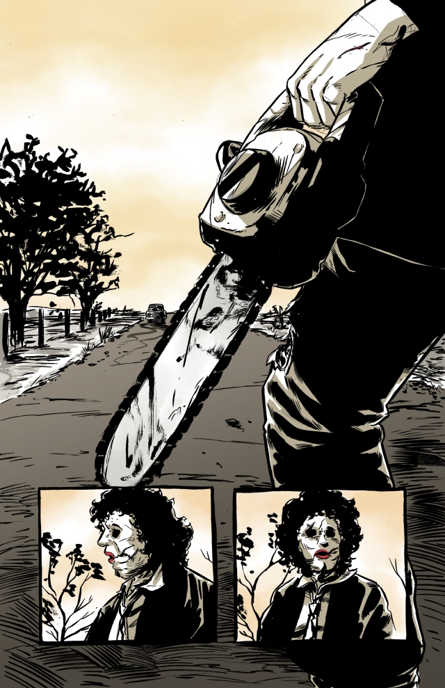 leatherface page1